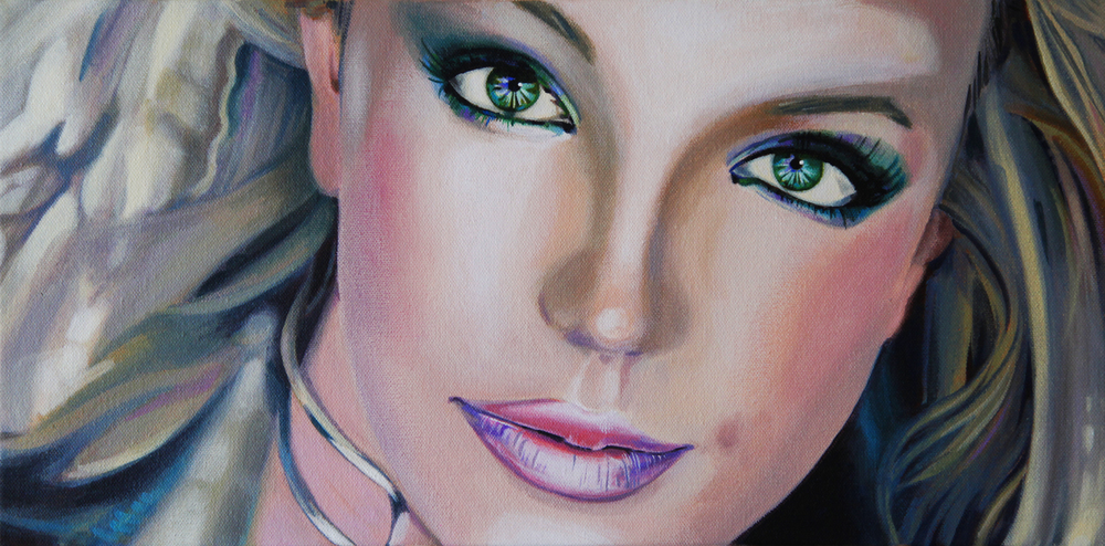 Britney, 2013, Acrylic on Canvas