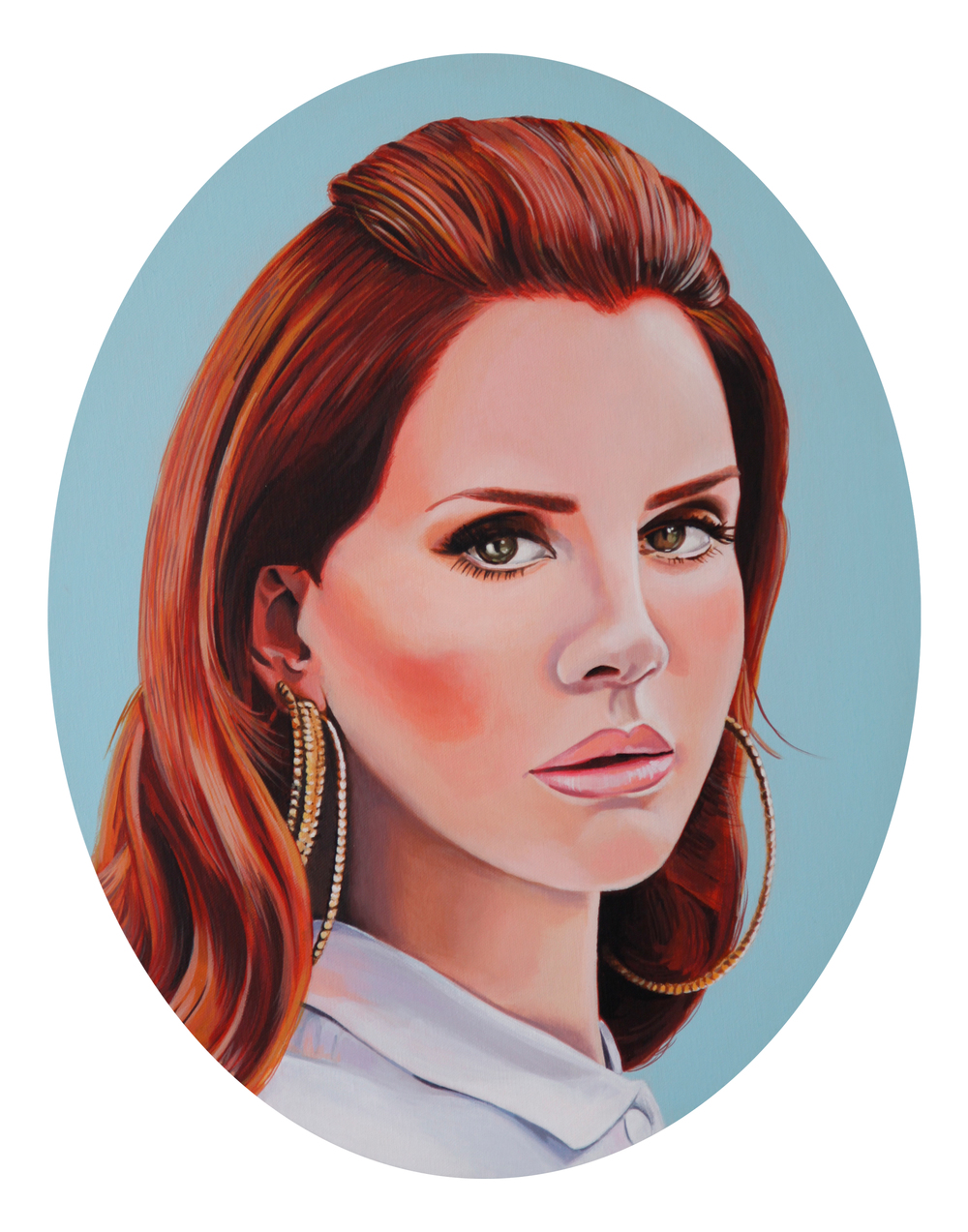 Lana, 2014, Acrylic on canvas