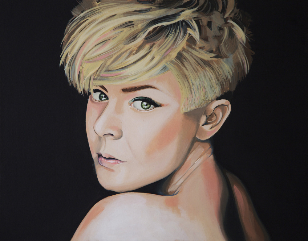 Robyn, 2013, Acrylic on Canvas