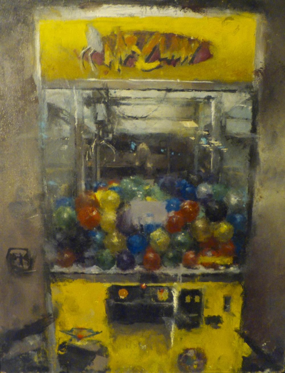 Bowling Alley Claw Machine