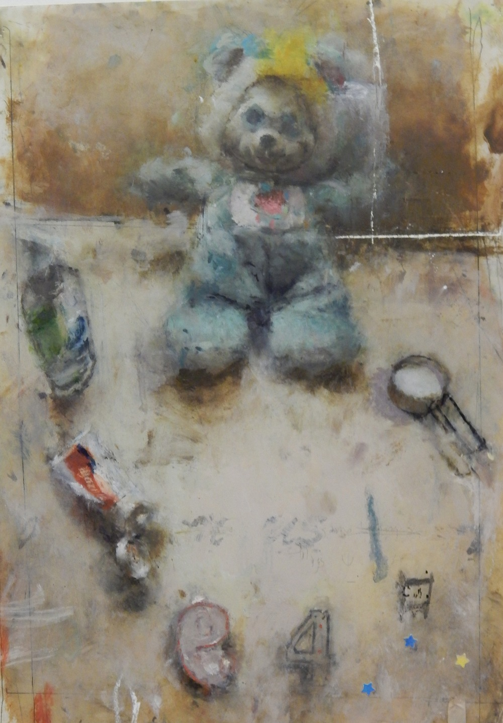 Still Life with Bear Doll