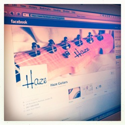 Haze Guitars on Facebook