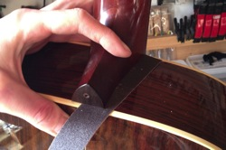 Guitar-Repair Neck Angle