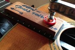 Repair neck angle acoustic guitar