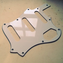 custom-cut pickguard