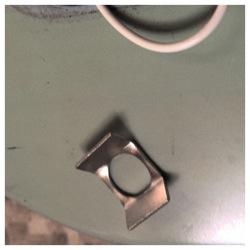 telecaster jack retainer clip