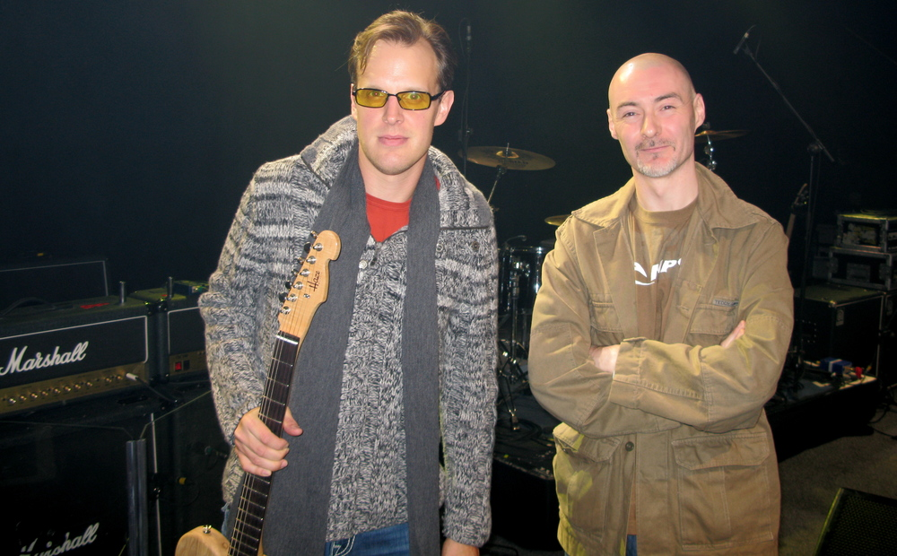 Gerry Hayes and Joe Bonamassa