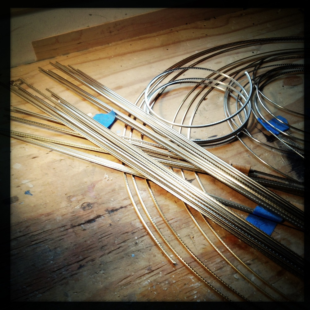 Small selection of fret wires