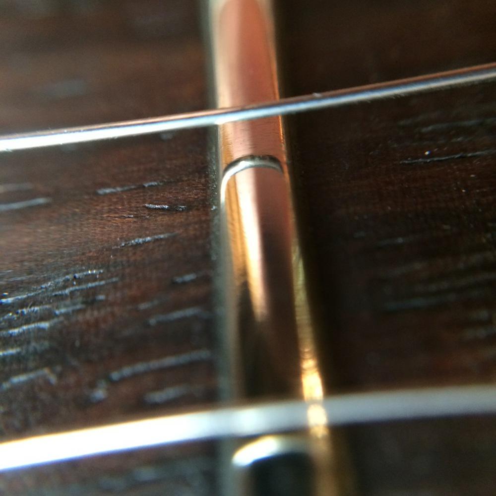 Nice shiny frets