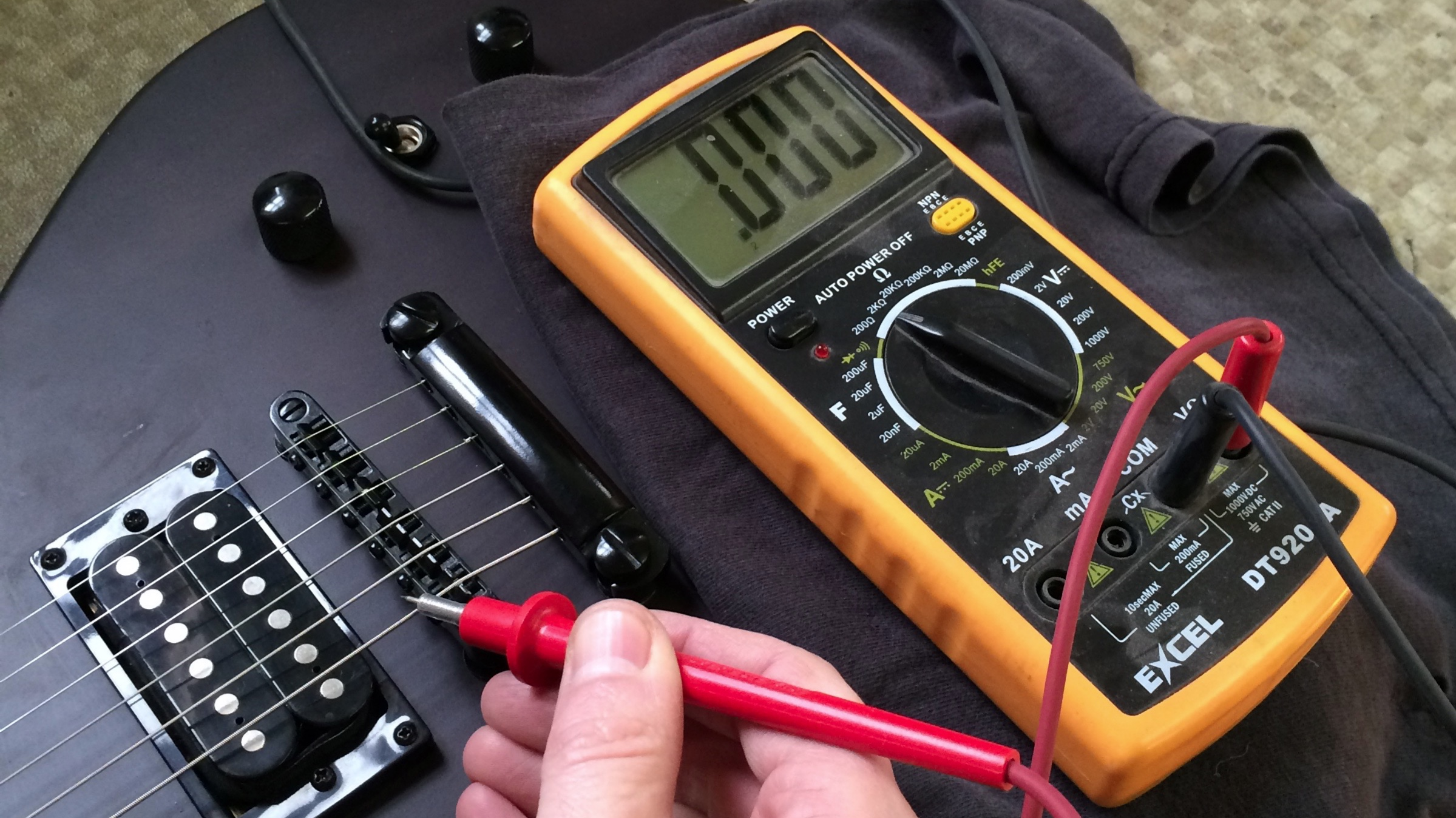 bridge ground and mystery ground issues haze guitars rh hazeguitars com Humbucker Guitar Wiring Diagrams Guitar Wiring Mods