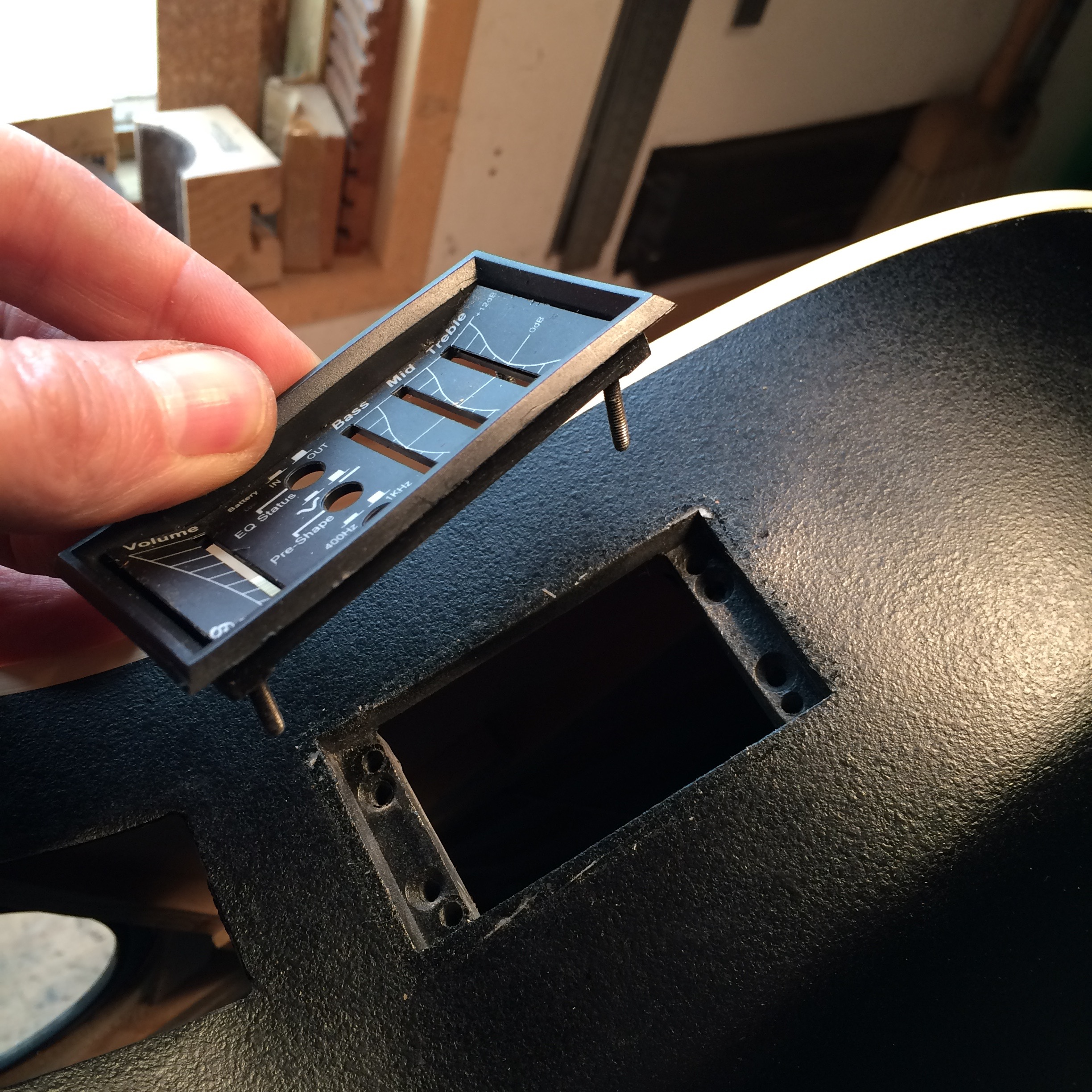 Quick Tip: Ovation OP-24 Pre& Removal & Quick Tip: Ovation OP-24 Preamp Removal \u2014 Haze Guitars