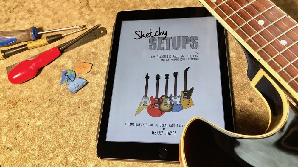 The easiest way to learn guitar and bass setup