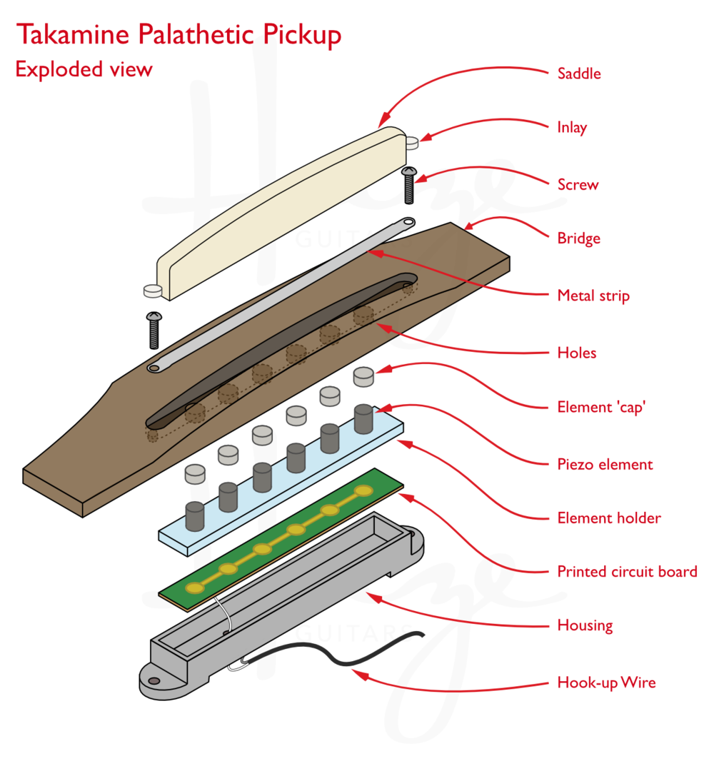 meet the takamine palathetic pickup haze guitars rh hazeguitars com Cigar Box Guitar Wiring Potentiometer Wiring Schematic