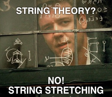 String stretching doesn't have to be complicated