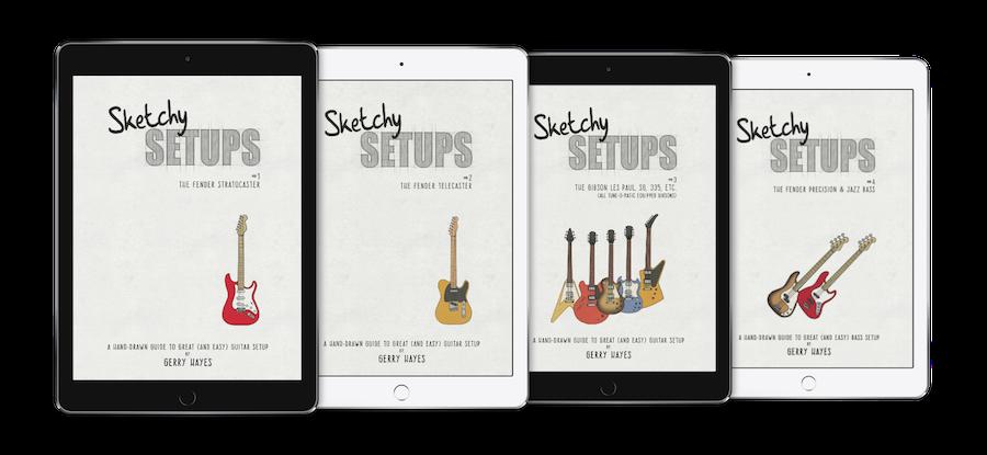 Get Sketchy Setups guitar setup guides