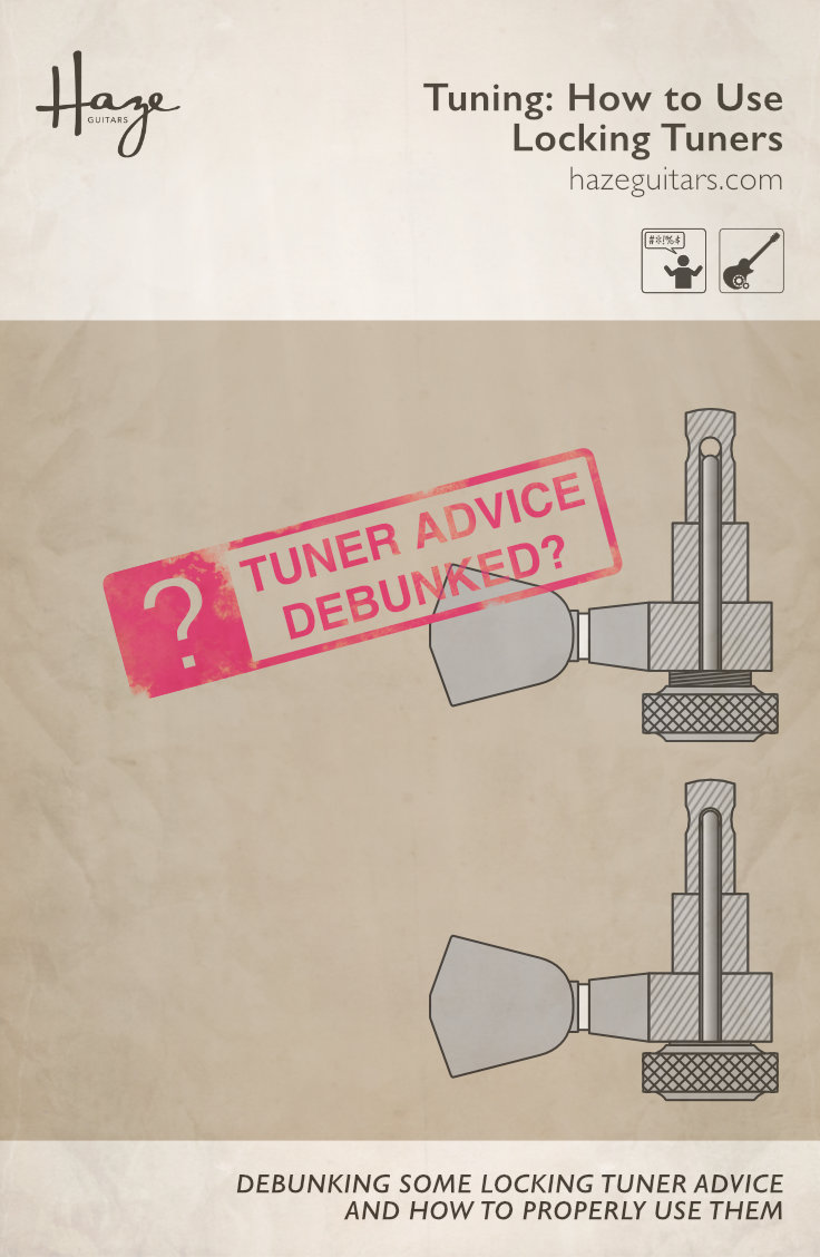 Should you tune PAST the note and back down when using locking tuners?