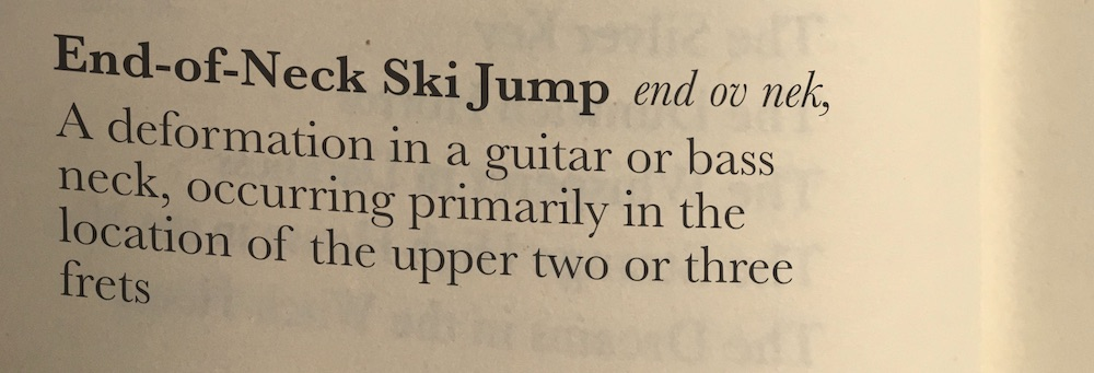 Hopefully we can avoid future confusion if we qualify our ski jumps