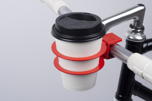 Bookman Cup Holder Raging Red