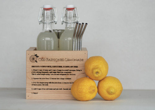 Wooden Lemonade Kit