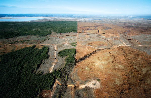 bad effects of open pit mining