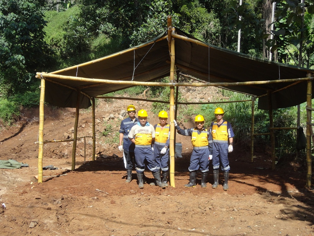 RS Mines, Bora Bora Resources, Indodrill, & SRK Consulting prepare the Queen's Mine for Drilling