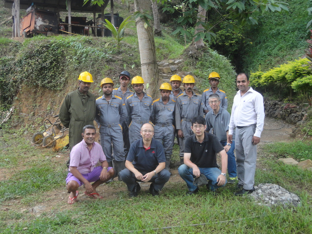 Toyota Institute Japan, Mission Vector Partners Japan, and Peradeniya Univeristy visit RS Mines