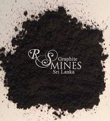 RS007,7 Micron aps,99%+ Carbon,       Natural Crystalline Vein               Graphite Powder.