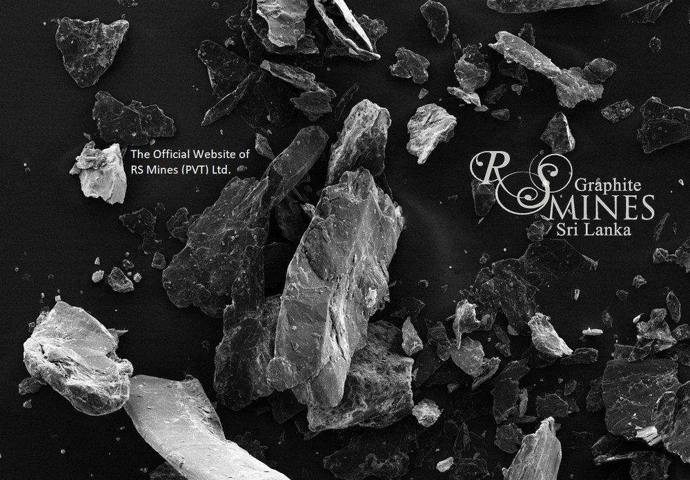 RS Mines Sri Lankan Natural Highly Crystalline Vein Graphite