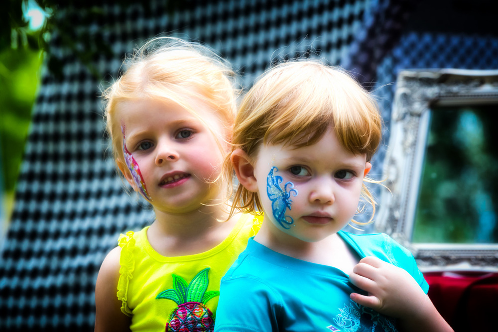 Face Paint Friends. Face painting by  Walking Canvas Face Painting .