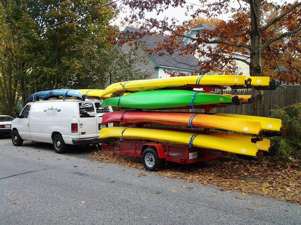 Free Multi-Day Kayak andSUP Delivery