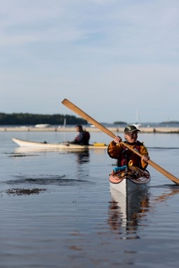 Portland paddle guide suzanne blackburn in old port magazine