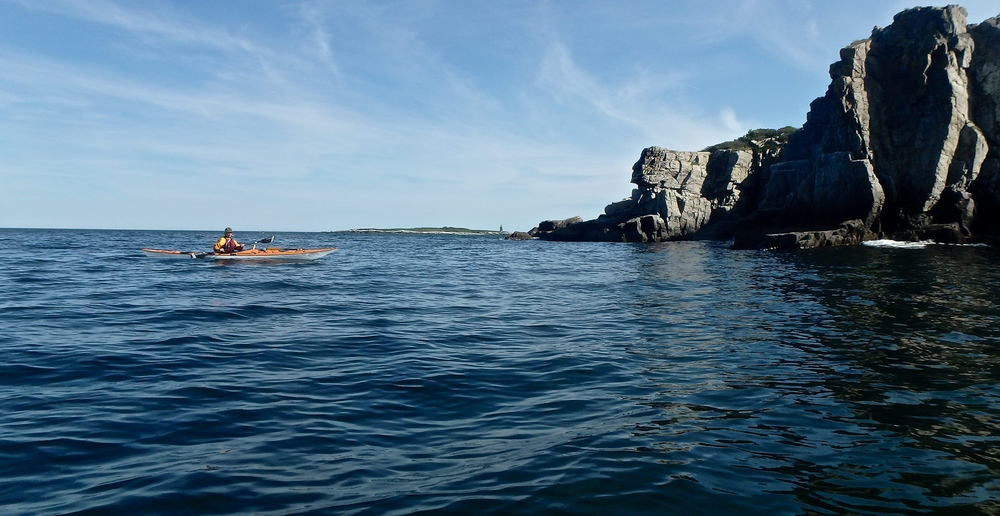 Cushing Island Cliffs, photo: Joe Guglielmetti