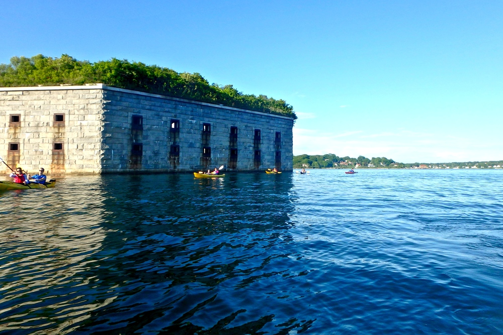 The south wall of Fort Gorges (Photo: Joe Guglielmetti)