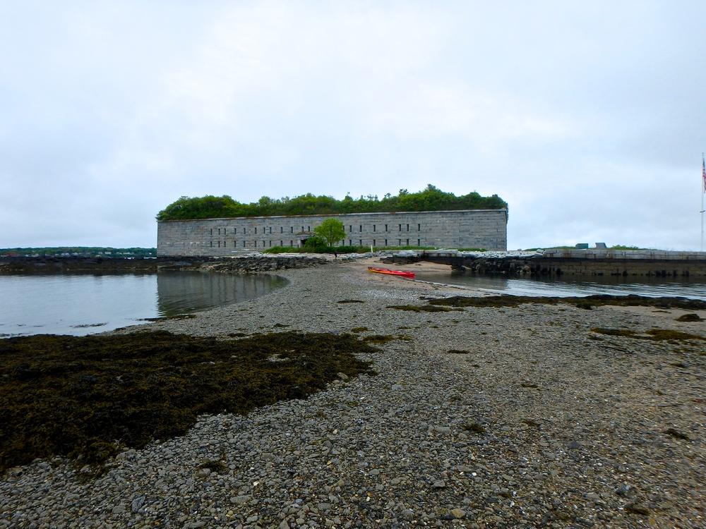 The sandbar on Hog Island at low tide (Photo: Joe Guglielmetti)