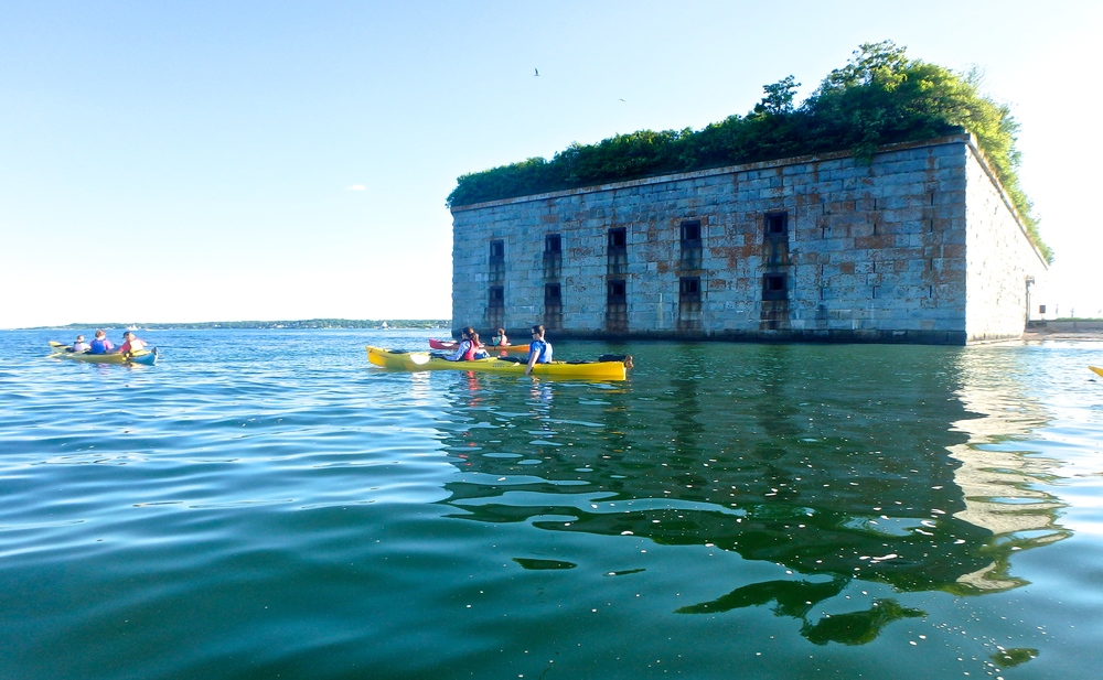The north wall of Fort Gorges (Photo: Joe Guglielmetti)