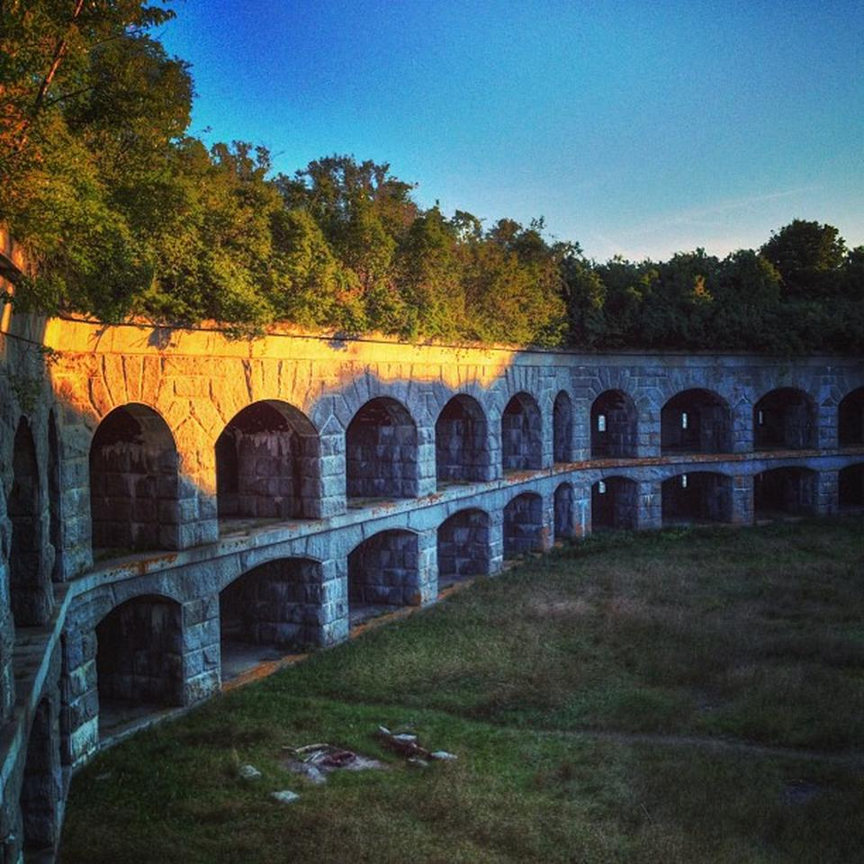 Copy of exploring one of the region's most interesting historic landmarks