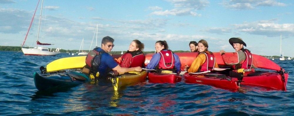 Sea Kayak & SUP Staff in Portland, Maine