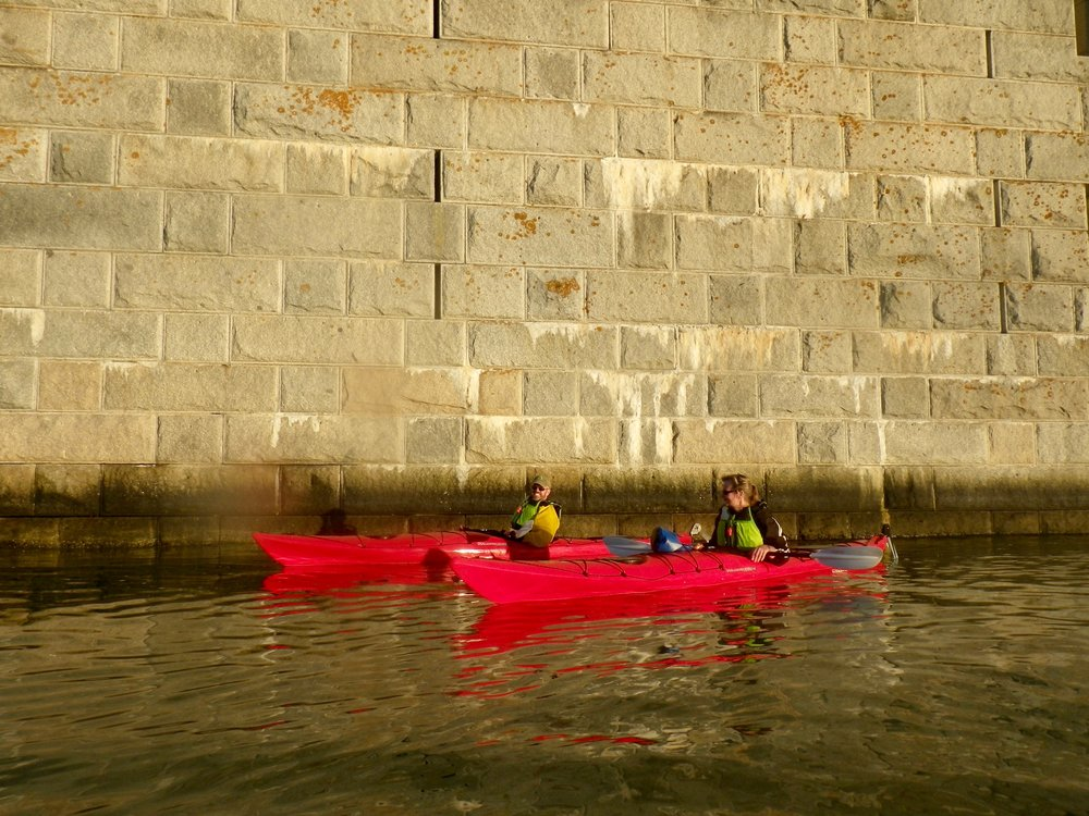Sea Kayak Tour to Fort Gorges