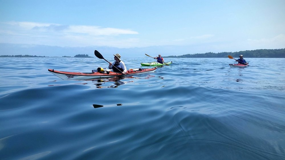 Paddle into Portland harbor and then cross out to Hog Island, where we'll land on a beach and explore the elegant granite halls, mysterious passageways and towering ramparts of Fort Gorges