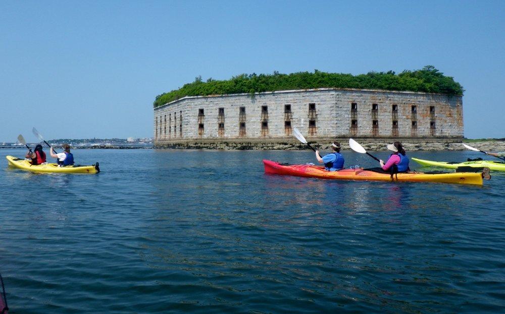 Copy of Fort Gorges Kayak Tour