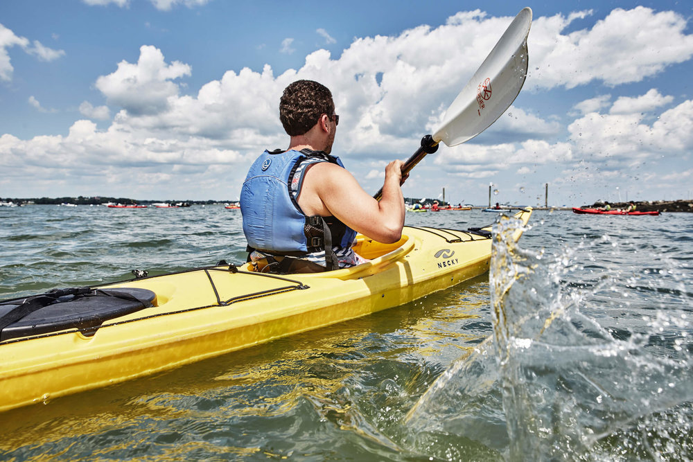 Half-Day Kayak Tour   - 9:00 to 1:00 on Mon, Wed & Sat1:30-5:30 on Sat in July & August$65 per person, $55 for kids 12-16