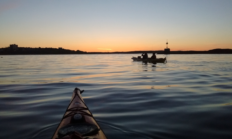 Sunset Kayak Tour - Trips depart every evening roughly two hours prior to sunset. Click below for exact timing. $40 per person, $35 kids 10-16