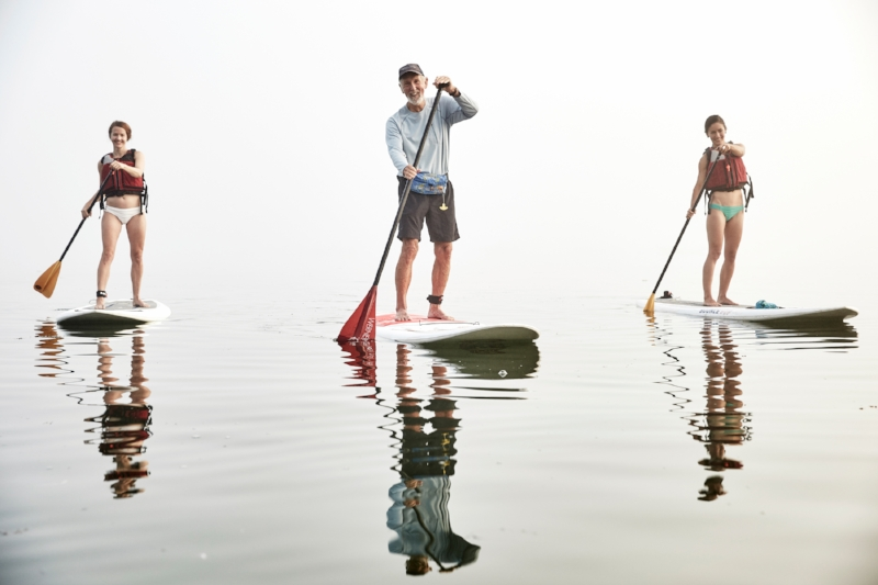 Stand-up paddle Tours - Learn the basics of SUP and explore Portland harbor through a brief paddleboard excursion in Casco Bay.