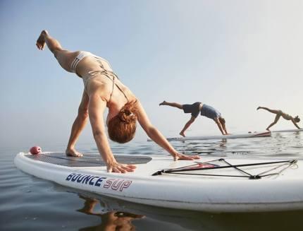 Yoga SUP Paddleboard Portland Maine Class