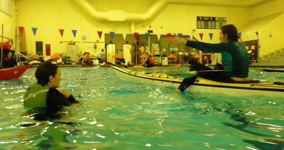 Winter Pool Sessions - Dates for 2019 TBA$25 with your own kayak$40 if you use a Portland Paddle kayak