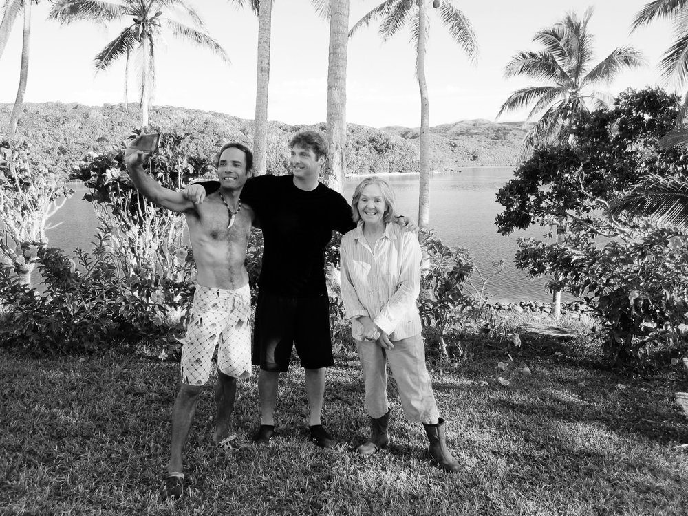 27  Photo of a selfie with Brenton and Braun, Galoa Island.jpg
