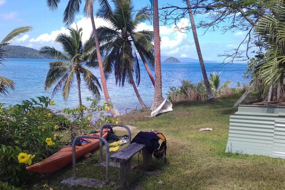 28   The Looksha IV on Galoa Island, with a whale Jaw behind.jpg