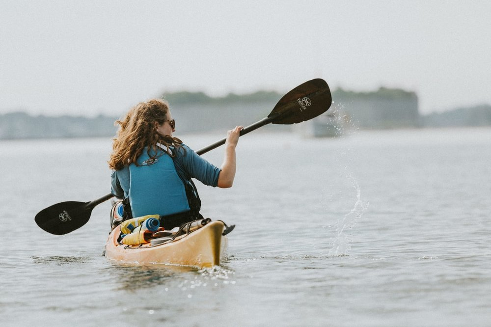 Fort Gorges Kayak Tour - 3-4 hours, $55 per person