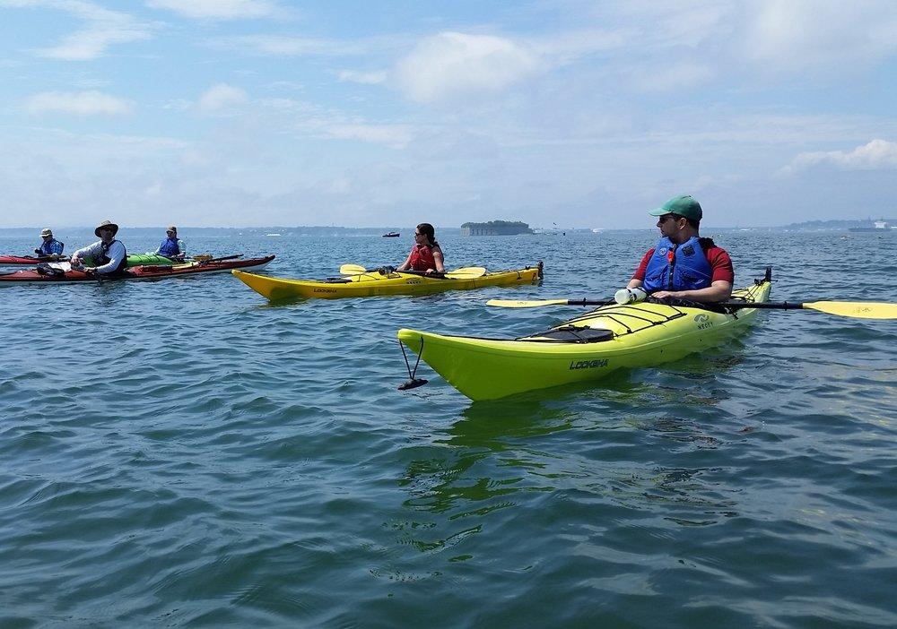 Intro to sea kayaking 2 -