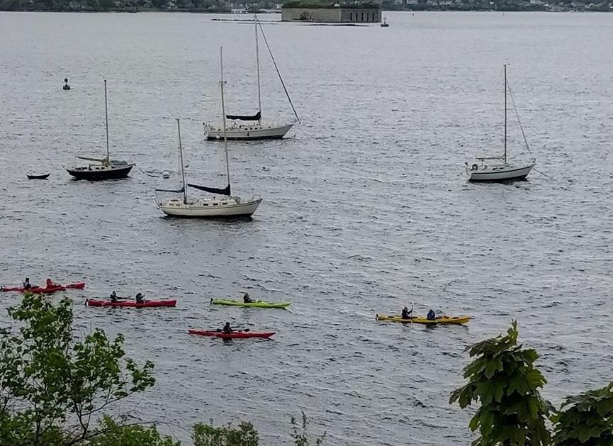 Sea Kayak Tour in Portland Harbor - 2 hours, $40 per person